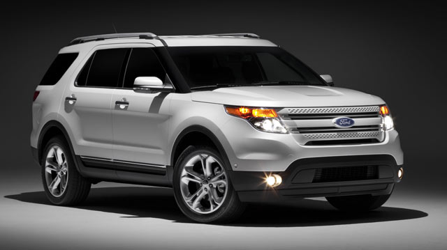 Jeffcars Com Your Auto Industry Connection New 2011 Explorer Looks Like A Suv Rides Like A Taurus
