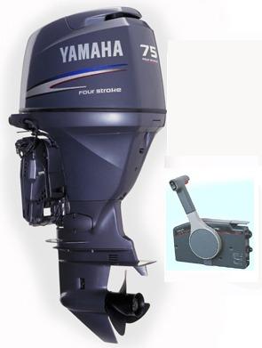 Motor yamaha 75 hp 4 tiempos inyeccion multipunto for Fuera de borda yamaha