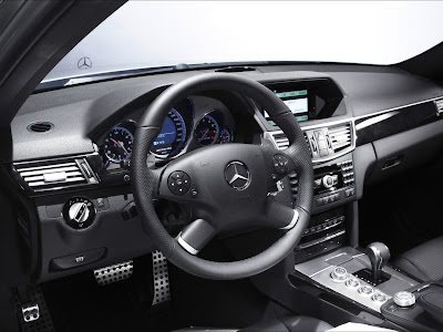 2010 Mercedes-Benz E63 AMG View Interior