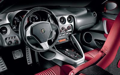 2009 Alfa Romeo 8C Interior