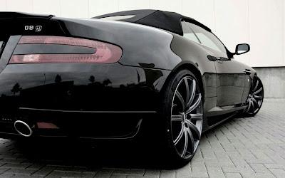 2010 Wheelsandmore Aston Martin DB9 Convertible Rear
