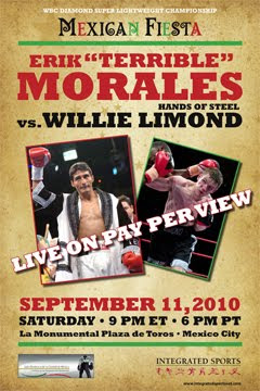 erik morales vs willie limond