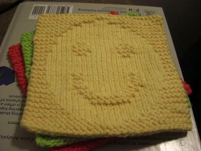 A Knitting Mountain Happiness Washcloth Pattern