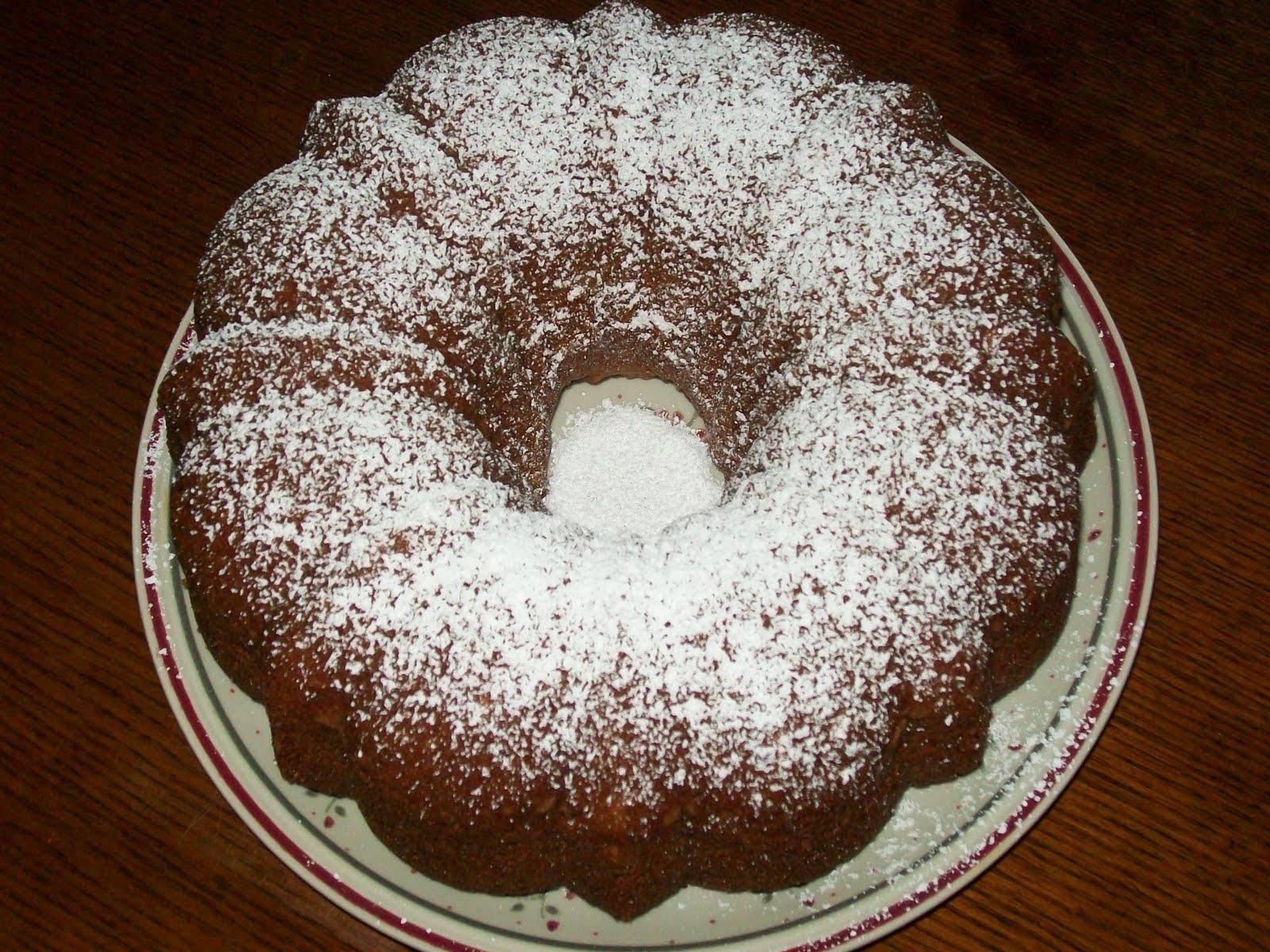 Michigan Cottage Cook: VIRGINIA BUDD'S SHERRY WINE CAKE