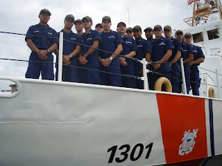 CGC Farallon Crew