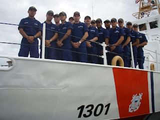 CGC Farallon Crew