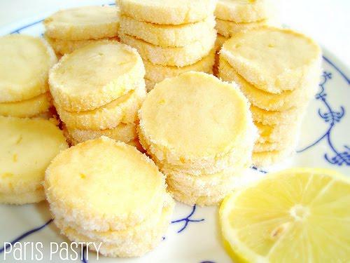 Paris Pastry: Lemon Butter Cookies