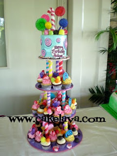 Candyland Birthday Cake on Cakelava  Candy Land Cake