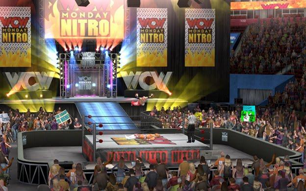 Wcw Nitro Arena.