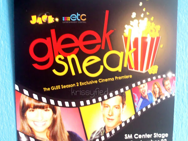 GLEEk Sneak: The GLEE Season 2 Exclusive Cinema Premiere