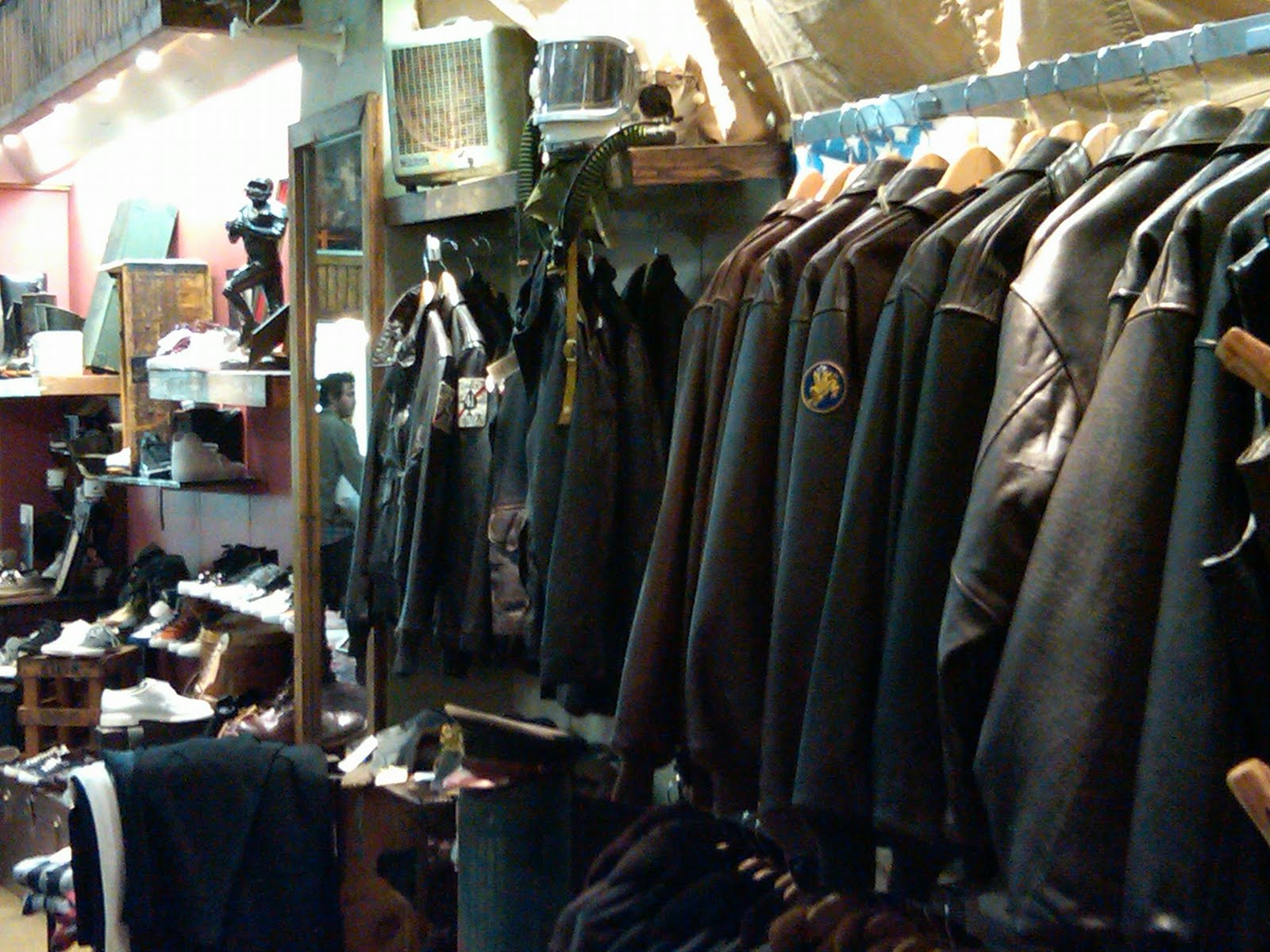 Leather jacket store nyc