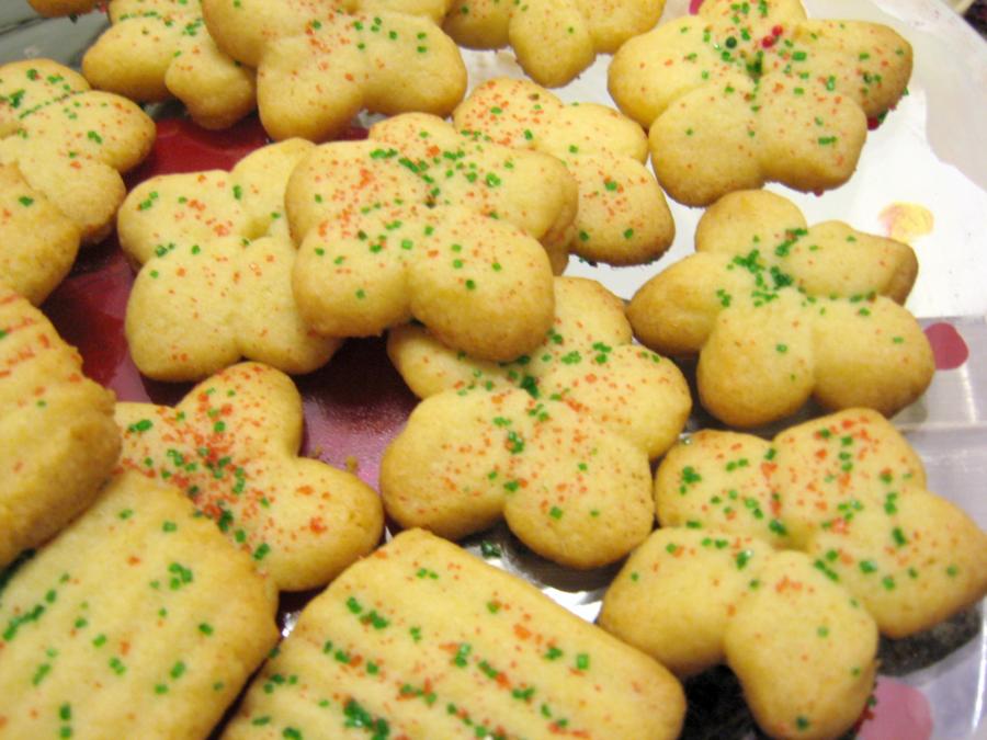 ... Forbes - Gingerlemongirl.com: Easy Gluten Free Spritz Cookies Recipe