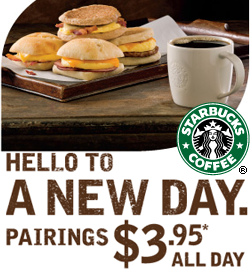 starbucks new value meals