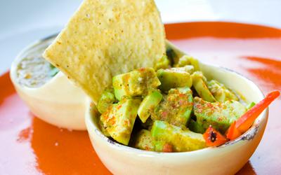 salsa verde guacamole