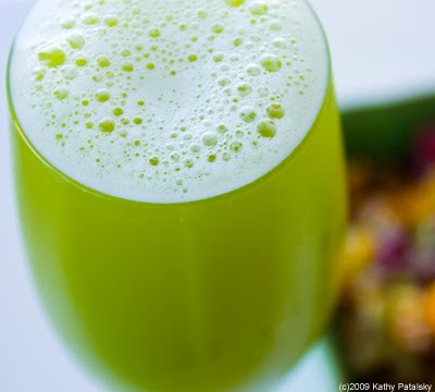 My Glass is Greener... Juice. Side of Ambrosia Mix.