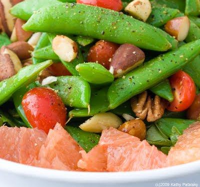 Sugar Snap Peas. Sugar Snap Pea Maple Nut Salad