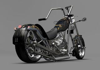 Um Piauiense tinha um sonho de ter uma Harley Davidson.