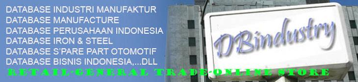 DBindustry-Daftar perusahaan,Database Perusahaan,Database Industri Manufaktur,
