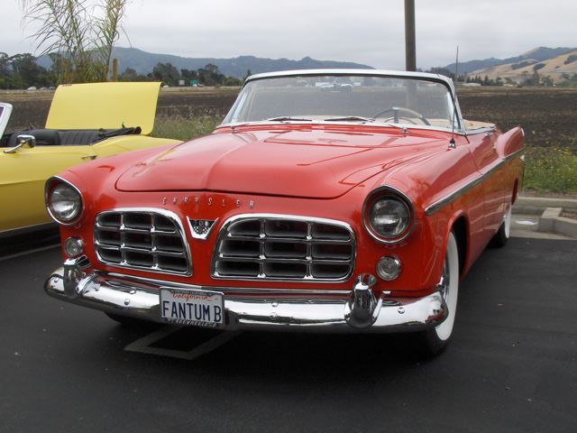Retro Rockets 1956 Chrysler 300 convertible