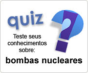 O que você sabe sobre bombas nucleares