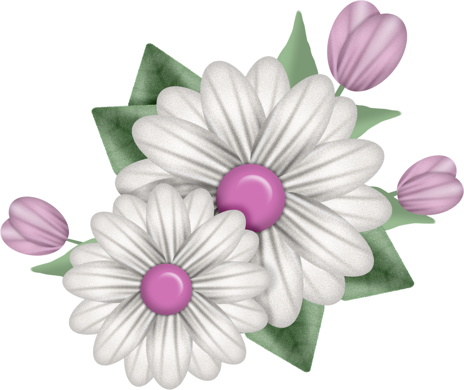 New Flower Bouquet & ribbon charm photoshop action & a CU Freebie