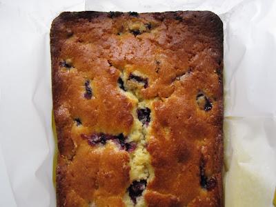 table etc.: Blueberry-Orange Bread