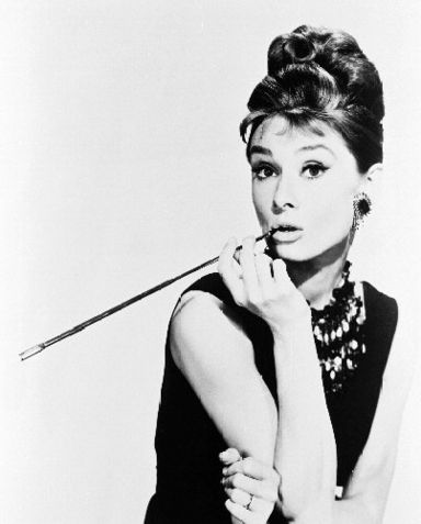 audrey hepburn cigarette holder