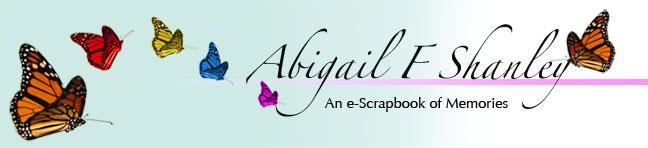 In Memory ~ Abigail F. Shanley