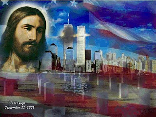 Jesus has laser vision like Superman!