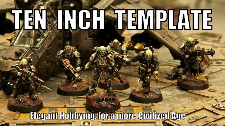 Ten Inch Template