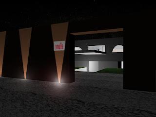 Entrance to the disco