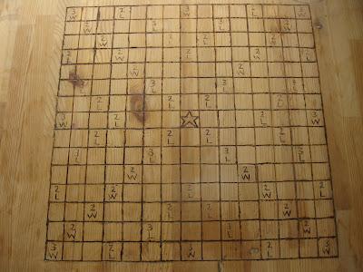 Scrabble Table