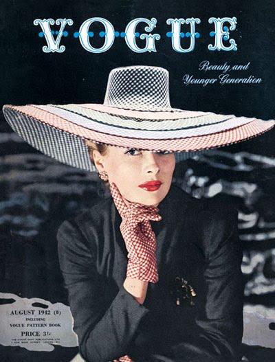1940s Fashion Icons on Belle Du Jour  1940 S Vogue   Le Premier