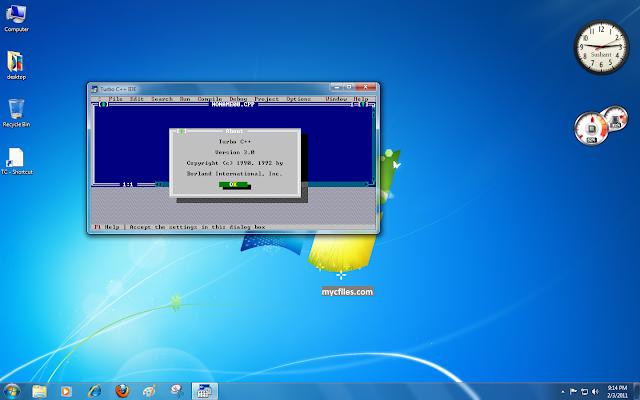Increase Turbo C Compiler Window Size In Windows 7 My C