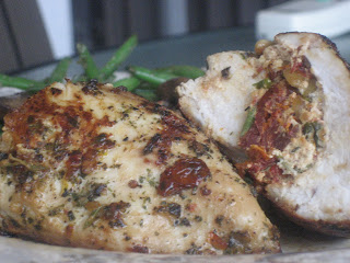 Goat Cheese and Sun Dried Tomato Stuffed Chicken Breasts - Aggie's ...