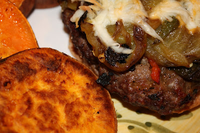 Sanford Burgers with Roasted Sweet Potato Rounds… - Aggie's Kitchen