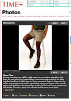 TIME Magazine Photo Essay (ActivSkin 'mantyhose')