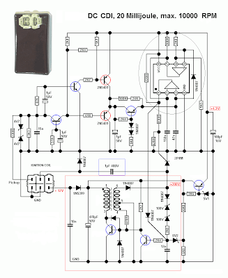 Dc Cdi on honda atv wiring diagram