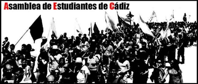 Asamblea de estudiantes de Cádiz