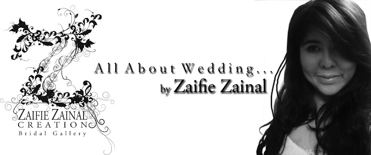 Click here for more pelamins by Weddings by Zaifie Zainal