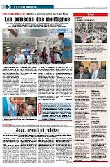 Lisez l'article dans le Quotidien de la Réunion, 11 novembre 2009
