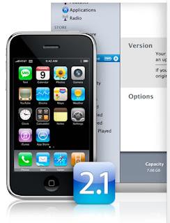 iPhone 2.1 Software Update