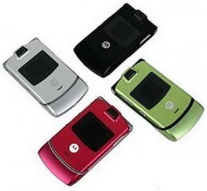 """Motorola Prepares RAZR 3 Vxx """"Ruby"""""""