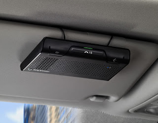 Sony Ericsson Bluetooth Car Speakerphone HCB-108 Offers Long Battery Life