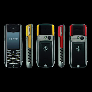 Nokia Vertu Announces Another Ferrari Mobile Phone