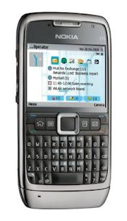 Nokia E71 and N82