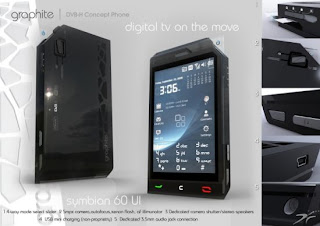 Graphite concept phone based on the DVB-H technology