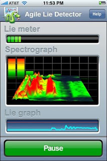 Agile Lie Detector for iPhone