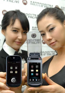 Motorola Krave ZN4 turns into Motorola Prizm for the Korean market