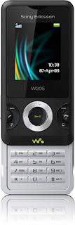 Sony Ericsson Announces W205 Basic Walkmanphone